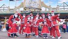 增添童話耶誕氣氛 六福村5米巨型胡桃鉗士兵上哨