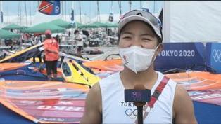 女子滑浪風帆 陳晞文目標爭取更佳排名