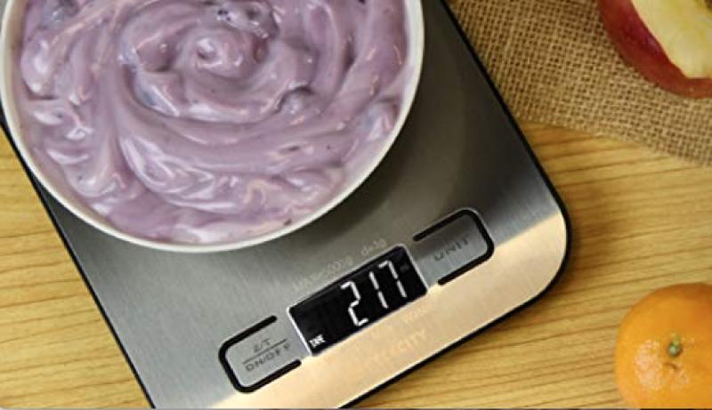 Etekcity Food Digital Kitchen Weight Scale. (Photo: Amazon)