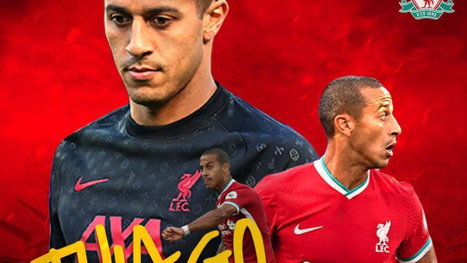 Liverpool - Thiago Alcantara (Bola.com/Adreanus Titus)
