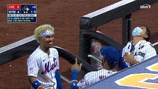 新的棒球訓練大法?Lindor嘗試用嘴接住雨滴【珍奇場面】20210615
