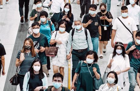 新冠肺炎大流行 不斷更新疫情訊息