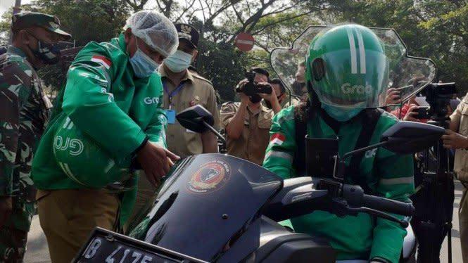 PSBB Ketat di Jakarta, Polisi Minta Gojek dan Grab Berperan Aktif