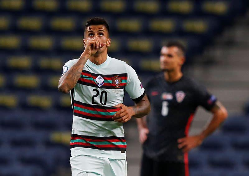 Portugal make light of Ronaldo's absence to thump Croatia