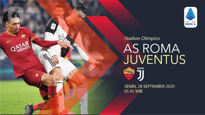 Siaran Langsung Liga Italia: AS Roma Vs Juventus Pukul 01.45 WIB di Vidio