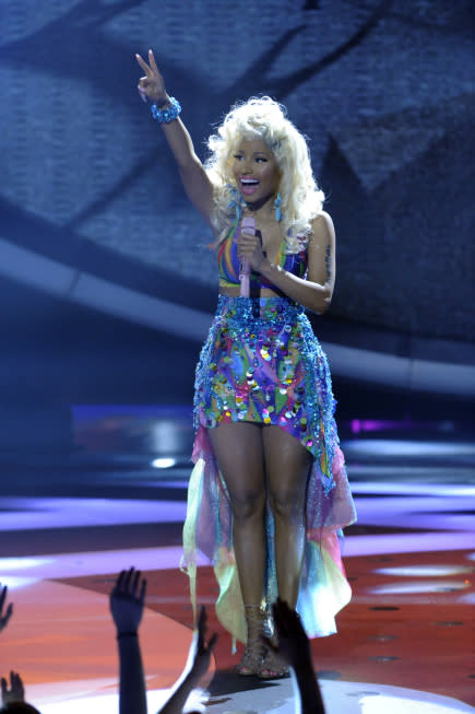 Nicki Minaj Talks 'X Factor' Rumors, Supposed J.Lo Feud