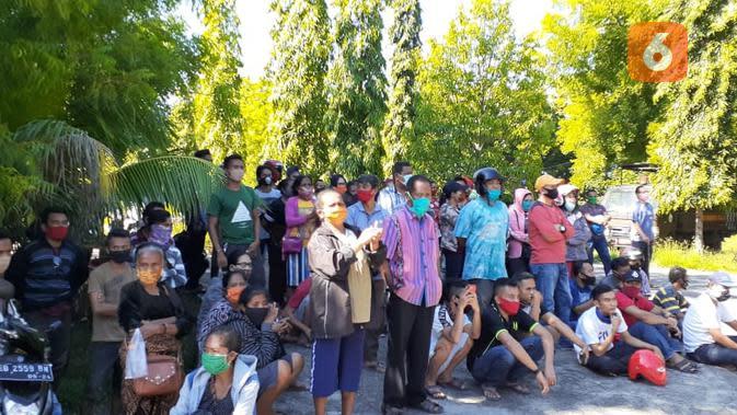 Pedagang Sikka NTT Tolak Pembangunan Mal di Lokasi Pasar Maumere