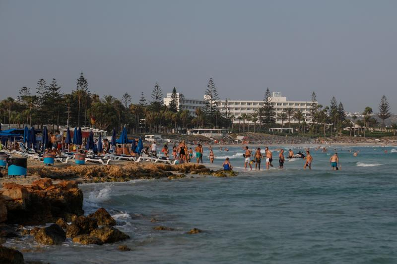 The young woman has alleged that gang rape took place at a hotel in the popular resort of Ayia Napa. (Getty)
