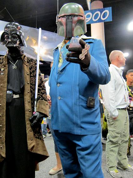 The most stylin' bounty hunter in the galaxy - San Diego Comic-Con 2012