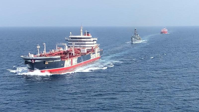 AT SEA IRAN BRITAIN HORMUZ