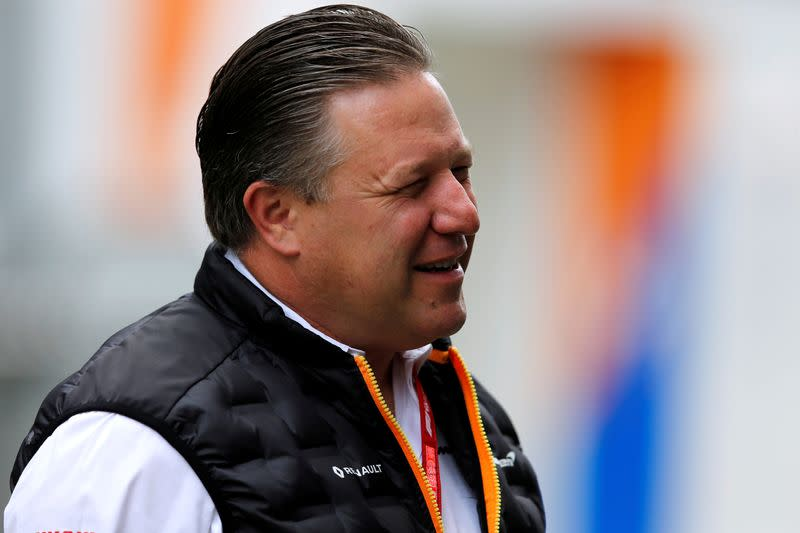 McLaren boss expects to 'hit a glitch' in F1 season plans