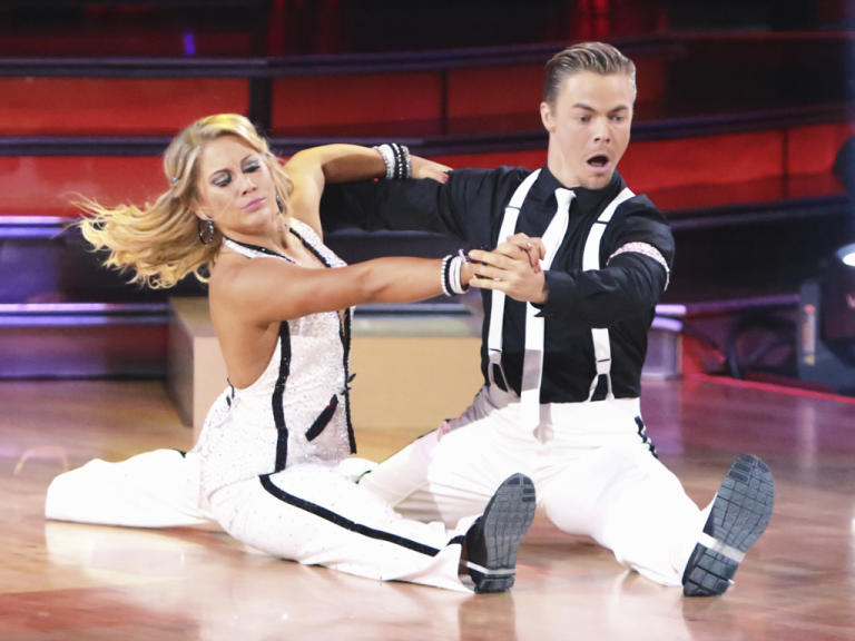 Shawn Johnson and Derek Hough (10/8/12)