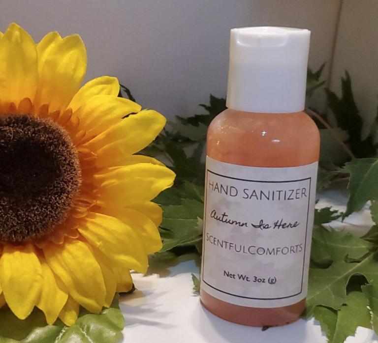 ScentfulComforts Autumn Is Here! Hand Sanitizer