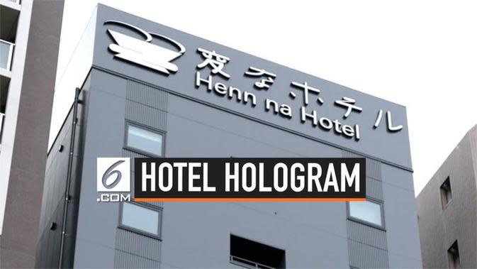 VIDEO: Hotel Ini Pekerjakan Hologram Sebagai Resepsionis