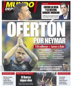 Neymar - Capa Mundo Deportivo