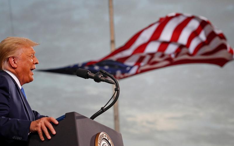 US president Donald Trump - REUTERS/Tom Brenner