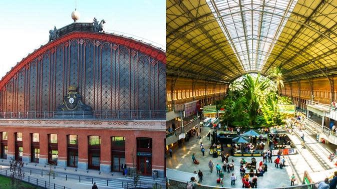 Stasiun Kereta Api Paling Megah di Dunia. (Sumber: brainberries)