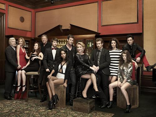 """In this undated promotional photo released by The Online Network, the cast of """"One Life To Live"""" is shown. The Oprah Winfrey Network is hosting a summer fling for soap fans as the network has acquired the first 40 episodes of The OnLine Network's reprisal of the popular daytime dramas """"All My Children"""" and """"One Life to Live"""" for a 10-week limited engagement. Half-hour episodes of each show will air Monday through Thursday beginning Monday, July 15 with """"All My Children"""" at 1 p.m. EST and """"One Life to Live"""" at 3 p.m. EST. (AP Photo/The Online Network)"""