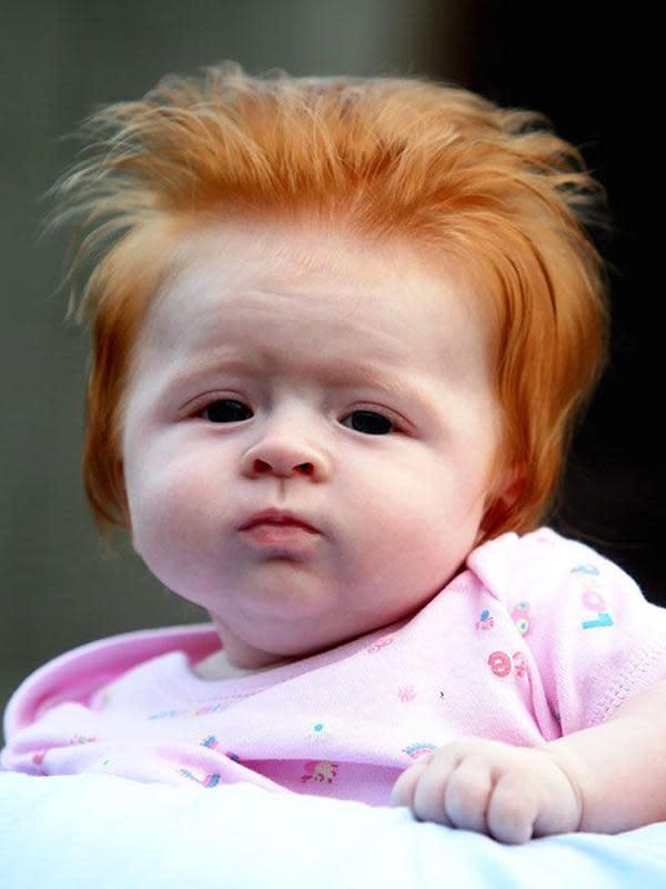 Potret Potongan Rambut Anak Kecil Ini Nyeleneh Abis (sumber:Pikabu.ru)