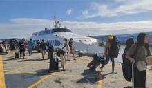 快新聞/東北季風導致海象不佳 台東往返綠島船班12/1全數取消
