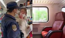 外籍女拒戴口罩!列車長霸氣秒處理