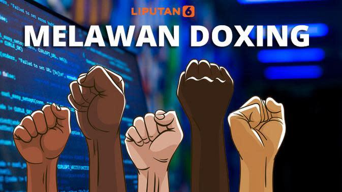 Ilustrasi Melawan Doxing (Liputan6.com/Triyasni)