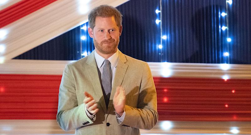 Prince Harry, Duke of Sussex makes a speech at a reception at the British High Commissioner's Residence on day seven of the royal tour of Africa on September 29, 2019 in Lilongwe, Malawi. [Photo: Getty]