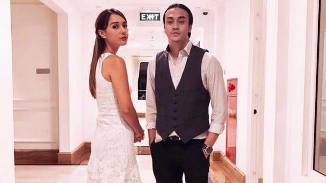 Cerita Raquel Katie dan Dimas Andrean jadi Pasangan Antagonis