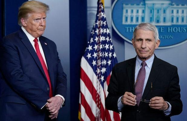 Fauci Says Quote in New Trump Ad Was Taken Out of Context, Without His Permission