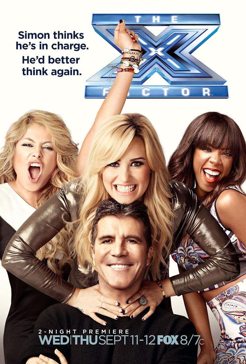 'The X Factor' Poster: 3 Girls and a Baby Daddy