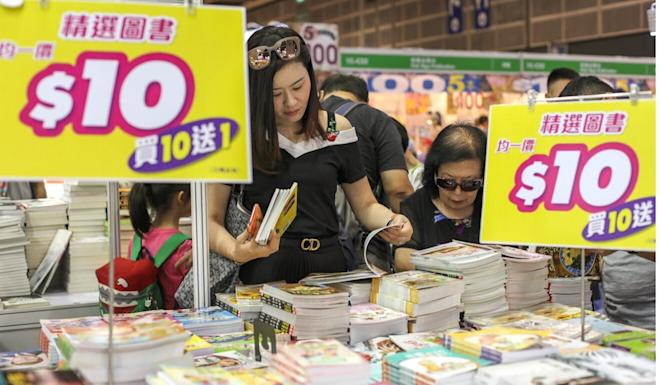 There have been calls to cancel this year's Hong Kong Book Fair. Photo: Xiaomei Chen
