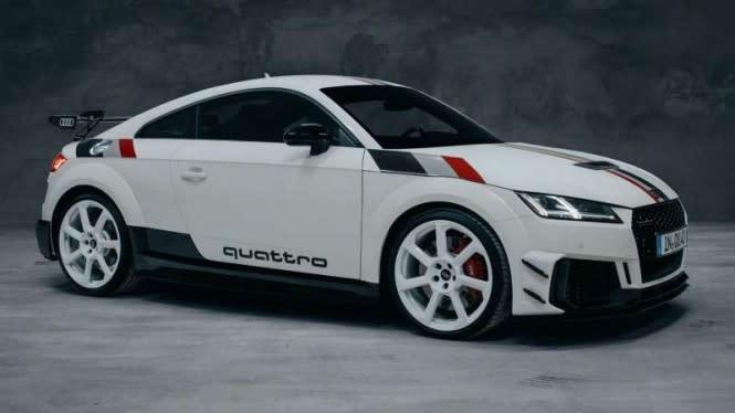 Audi Luncurkan Mobil Spesial ala Tahun 80an, Harganya Rp1 Miliaran