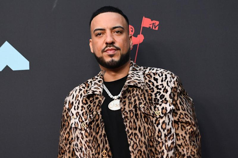 French Montana on 26 August 2019 in Newark, New Jersey: JOHANNES EISELE/AFP via Getty Images