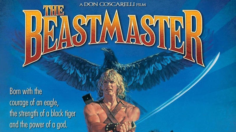 Cover art for the Blu-ray release of 'The Beastmaster'. (Credit: MGM)