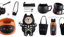 星巴克最萌黑貓再度回歸!《星巴克Starbucks》萬聖節推出24款必敗超萌黑貓周邊商品~必收飲料杯套、黑貓馬克杯