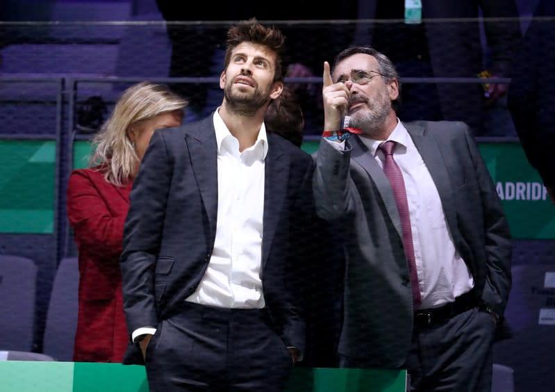 Pique defends Davis Cup commitments after scrappy Barca victory
