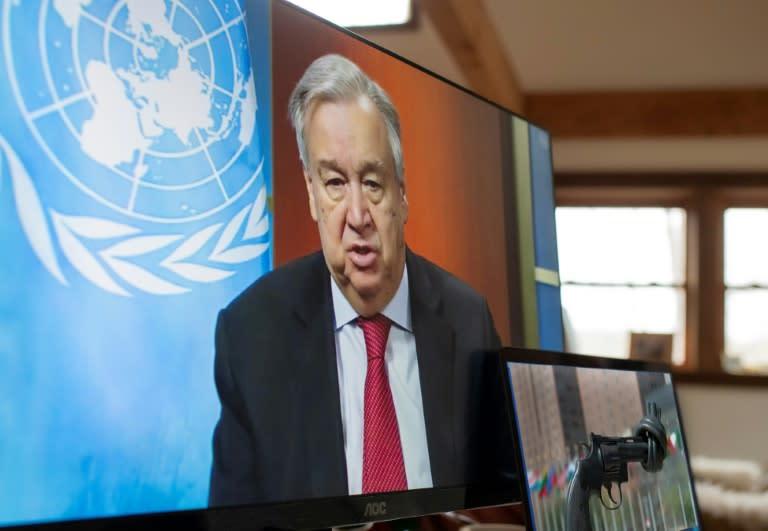 "UN chief Antonio Guterres said the coronavirus pandemic is the ""fight of a generation"""