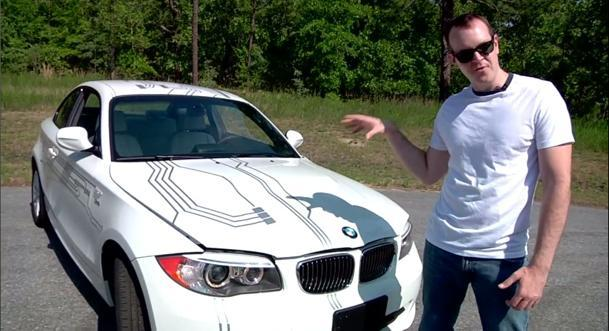 Driving BMW's Active E, a toe in an electric pool: Motoramic TV