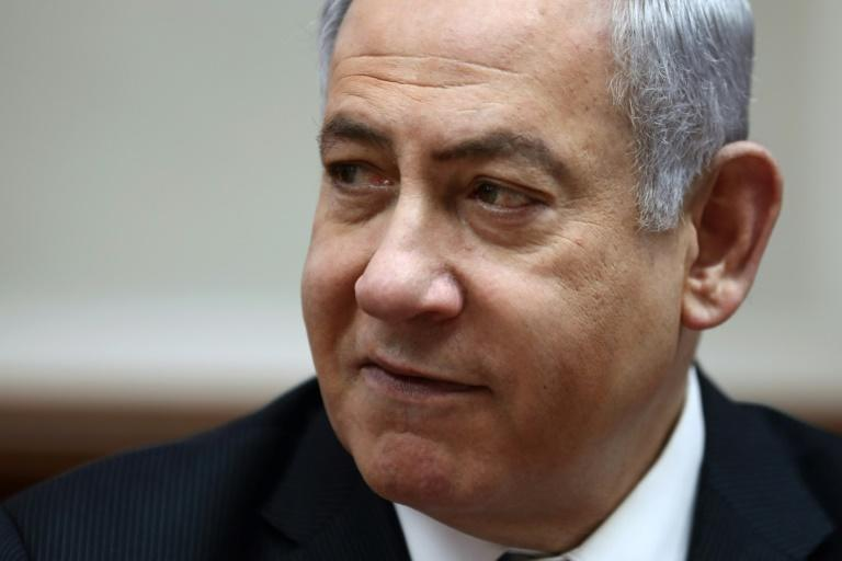 Netanyahu denies the charges and says he is the victim of a politically motivated witch-hunt