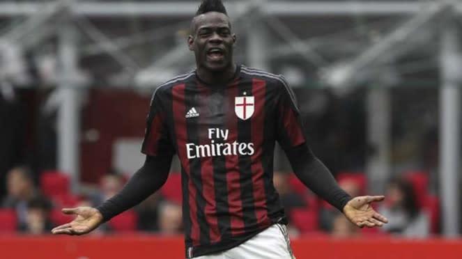 Mario Balotelli saat membela AC Milan