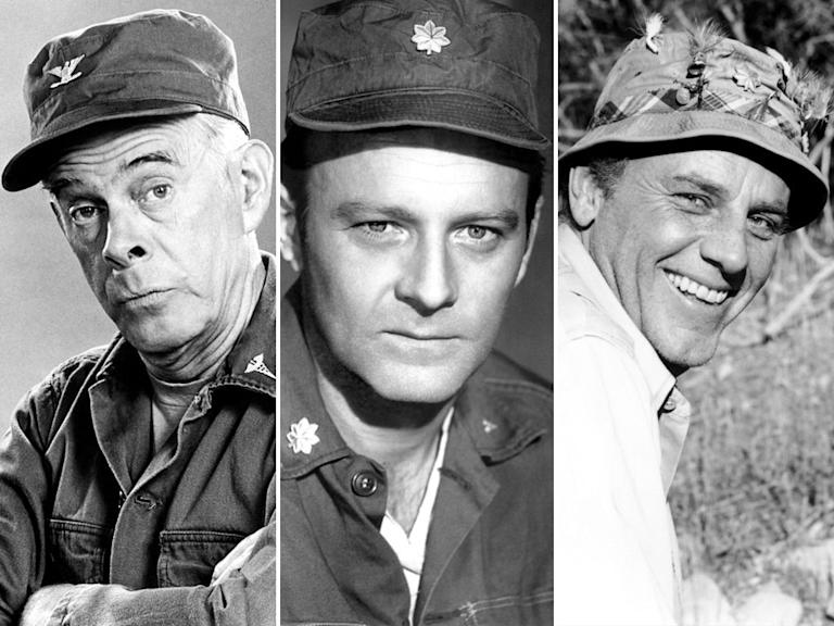 Harry Morgan, Larry Linville, McLean Stevenson