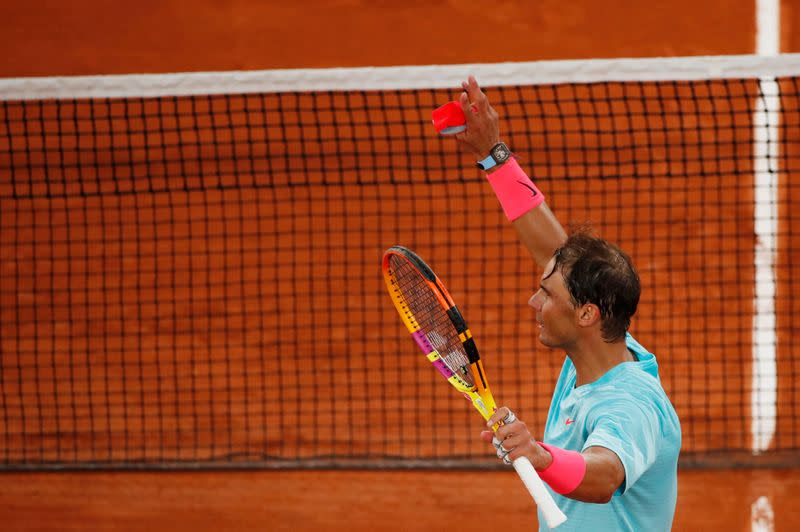 Different French Open, same start for Nadal
