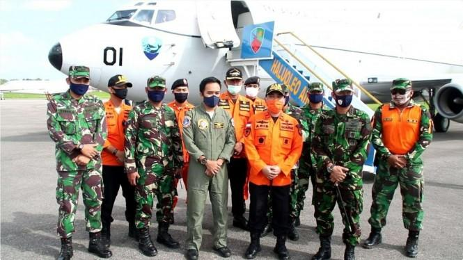 Pesawat Intai TNI AU Turun Tangan Cari 3 Nelayan Hilang