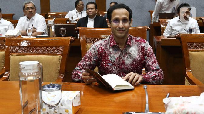 Menteri Pendidikan dan Kebudayaan Nadiem Makarim. (Liputan6.com/Johan Tallo)