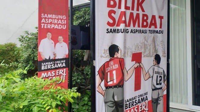 Pilkada Surabaya, Eri-Armuji Kampanye Lewat 'Bilik Sambat Daring'