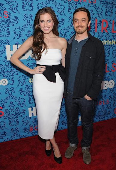 Allison Williams and Jorma Taccone