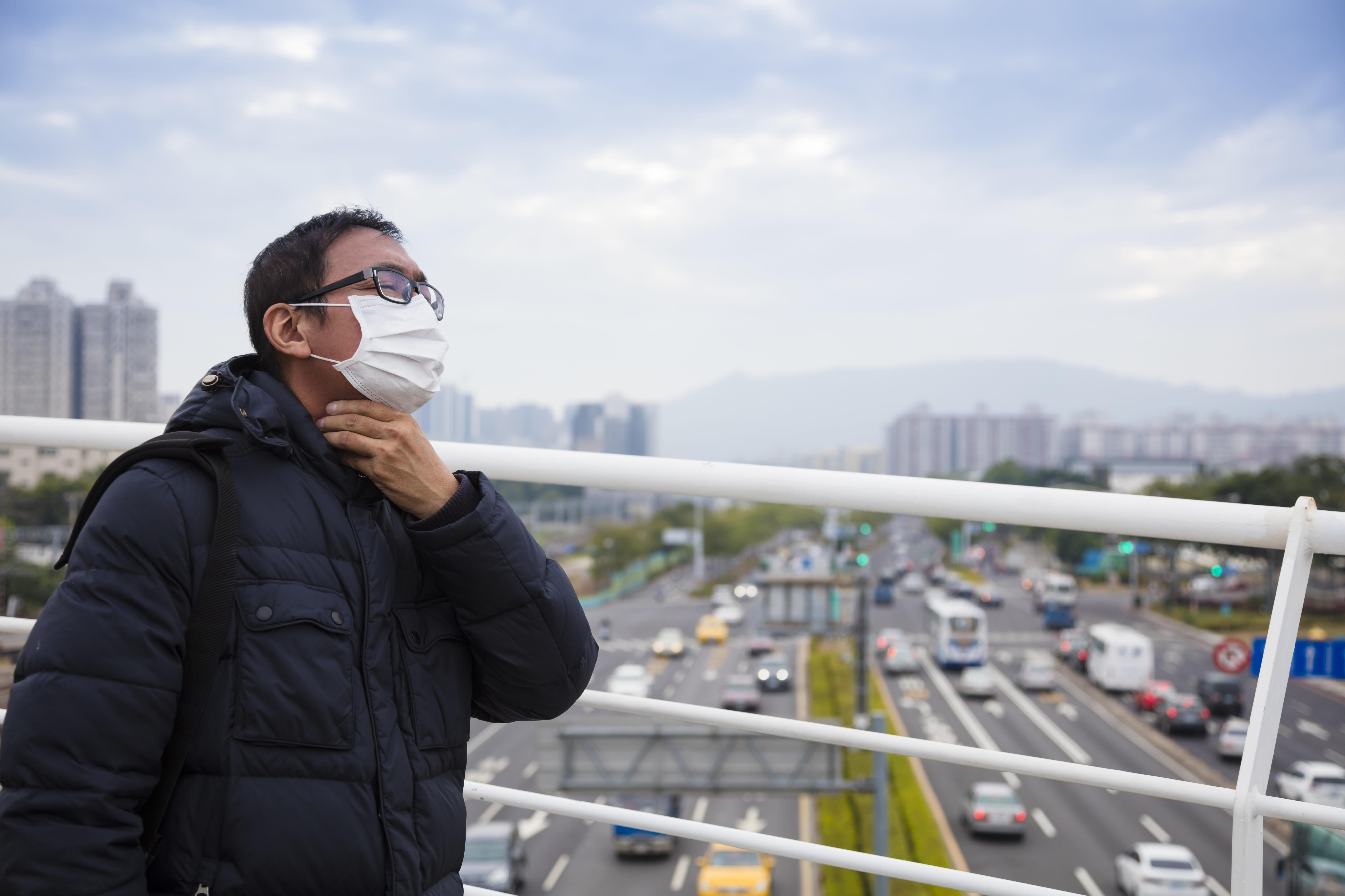 你感受到最近空汙變嚴重了嗎?
