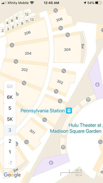how to use google maps penn4
