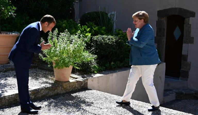Macron and Merkel meet with Turkey, Belarus, COVID on the agenda