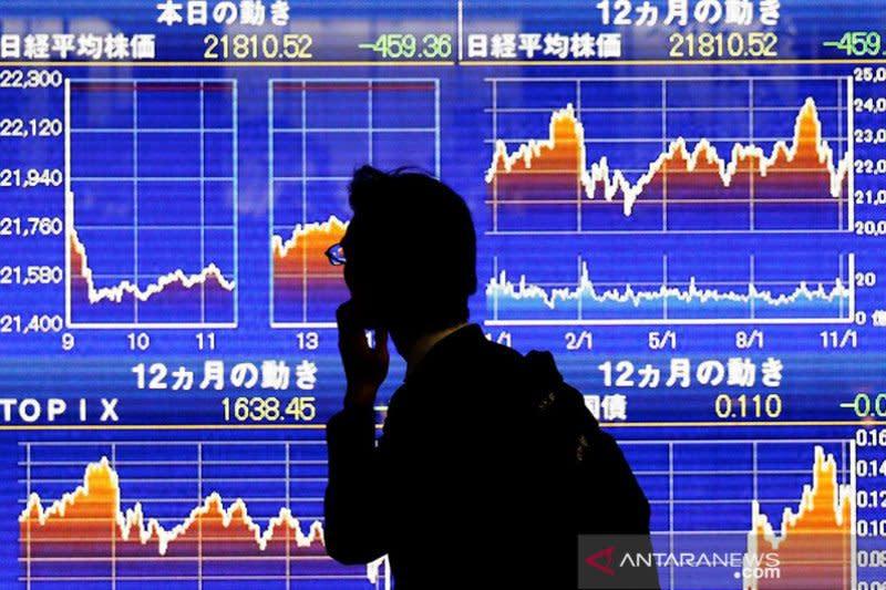 Kejatuhan pasar global berlanjut, saham Tokyo dibuka melemah tajam